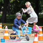 Dziecko na rowerku buegowym Puky LR M