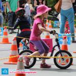 Dziecko na rowerku biegowym Puky LR 1L Br