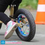 Koraliki na kołach rowerka biegowego Puky LR XL