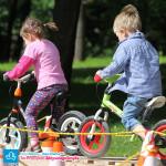Rowerki biegowe w akcji podczas Festynu Rodzinnego - Dzień Dziecka 2014