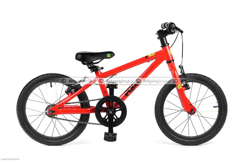 """Lekki rower dla dziecka na kołach 16"""" - Frog 48"""