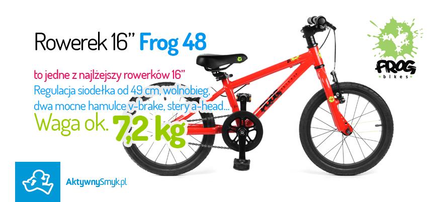 Frog Bikes - lekkie rowery dla dzieci