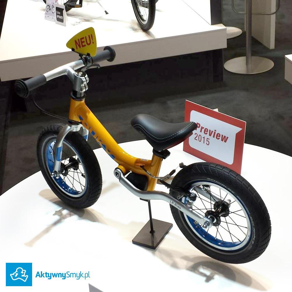 Amortyzowany rowerek biegowy Puky LR Ride