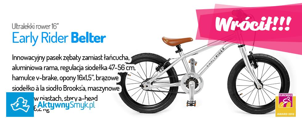 Lekki rowerek dla około 4 ltka
