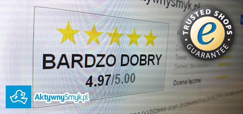 AktywnySmyk.pl - Sklep certyfikowany przez Trusted Shops