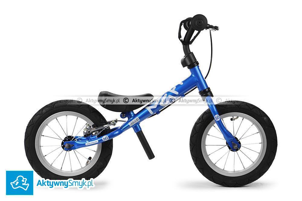 Niebieski rowerek biegowy Yedoo Fifty B dla wzrostu 85 cm, wiek 1,5+