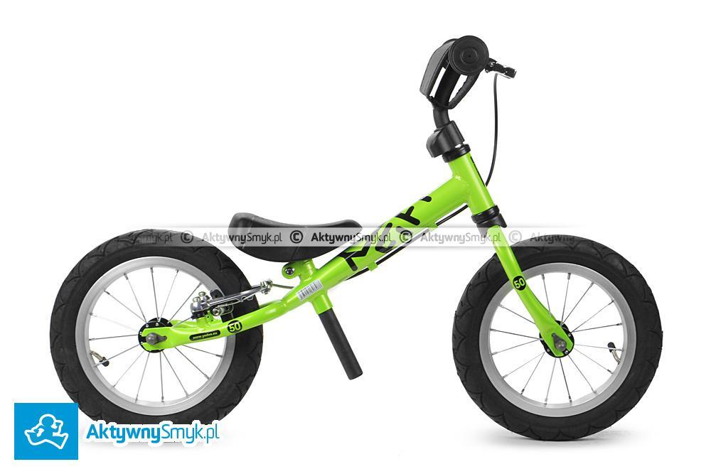 Zielony rowerek biegowy Yedoo Fifty B dla wzrostu 85 cm, wiek 1,5+