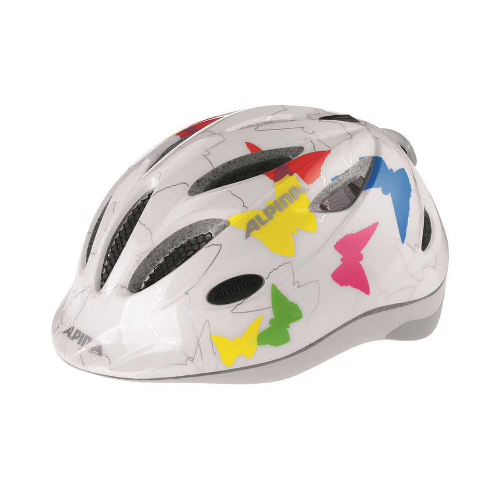 Kask Alpina Gamma 2.0 Flash White Butterfly