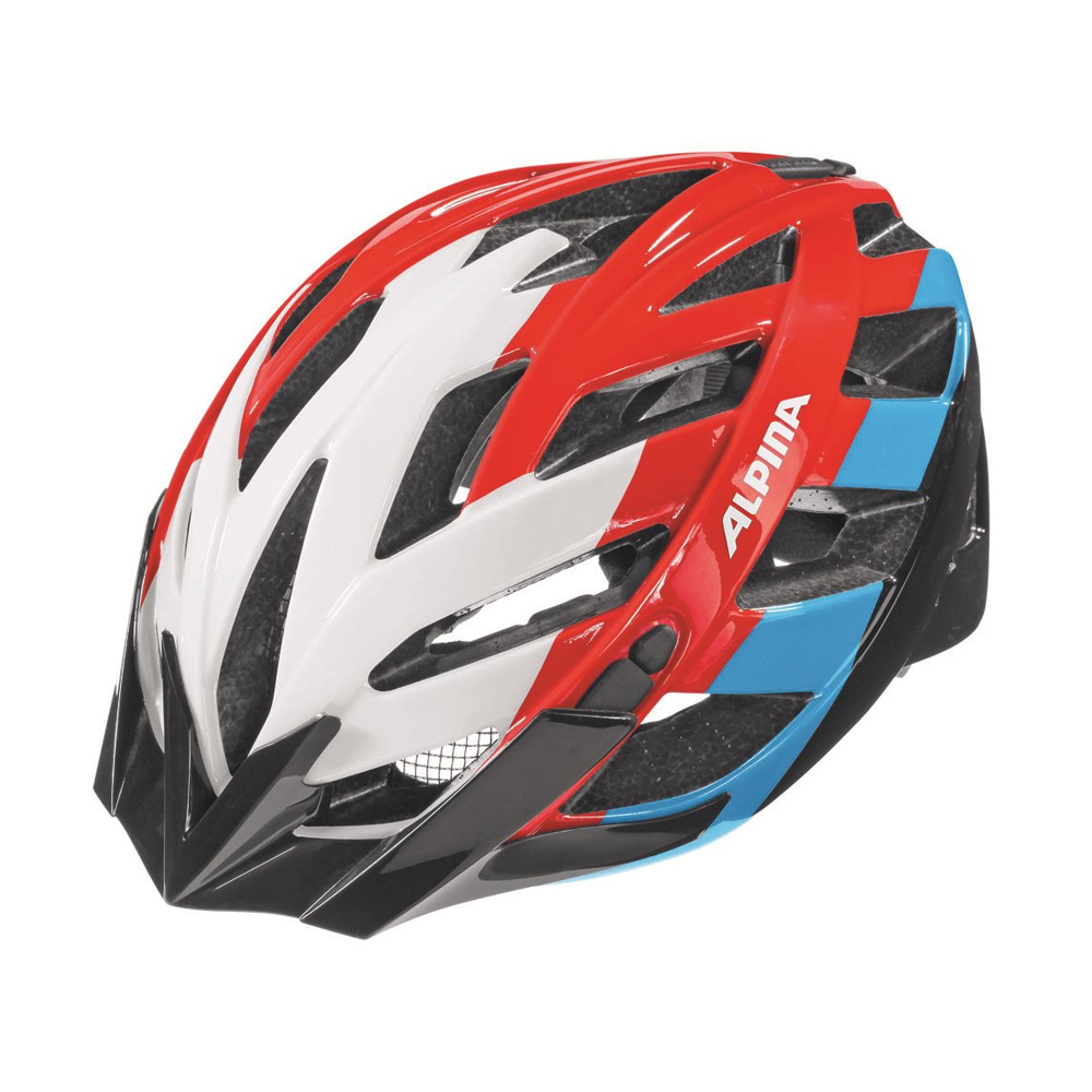 Kask Alpina Panoma White-Red-Blue