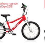 Rower WOOM 3 zdobywa nagrodę na targach w Kielcach