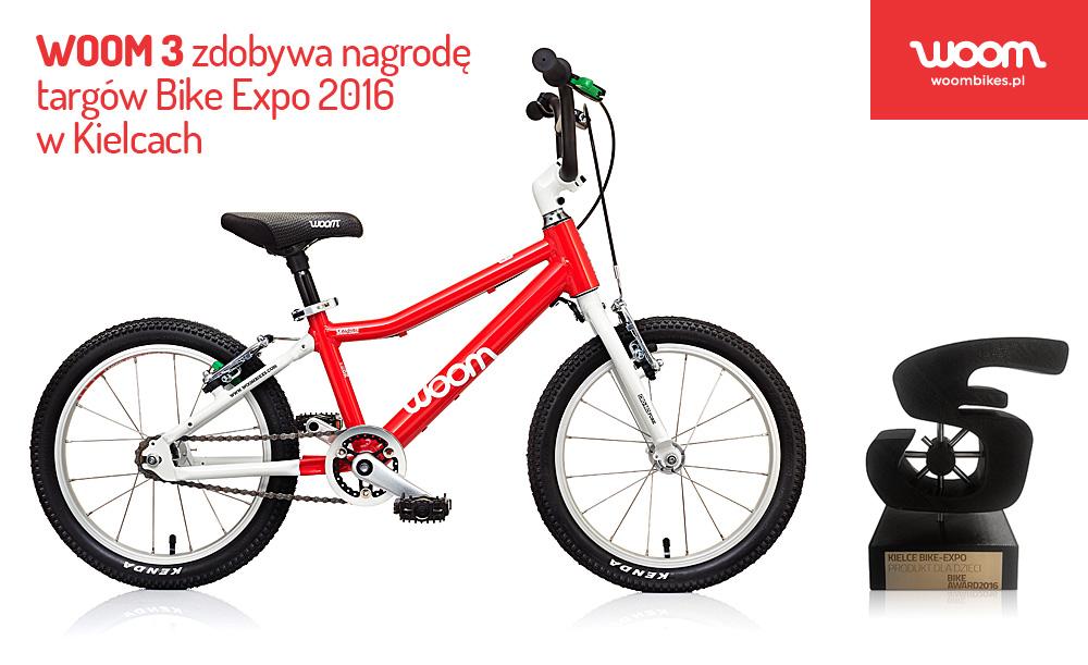 Nagroda dla rowerka WOOM 3