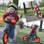3-letni Marcel na rowerku na B-Bip