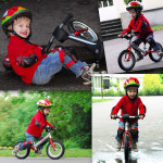Mały Leopold na rowerku LIKEaBIKE Jumper