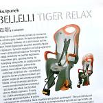 Fotelik Bellelli Tiger Relax – BikeBoard nr 7/2009