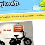 Wywiad z AktywnymSmykiem – laufrad kontra rowerek z pedałami
