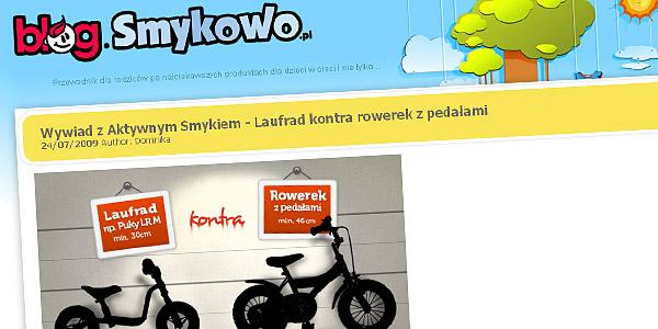 Wywiad z AktywnymSmykiem na blog.smykowo.pl