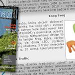 Lampka Knog Frog pomysłem na prezent według bikeBoard