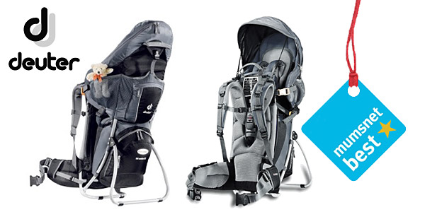 Product reviews > Mumsnet best - Backpacks - Deuter Kid Comfort III