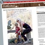 Synek Gwen Stefani na rowerku LIKEaBIKE