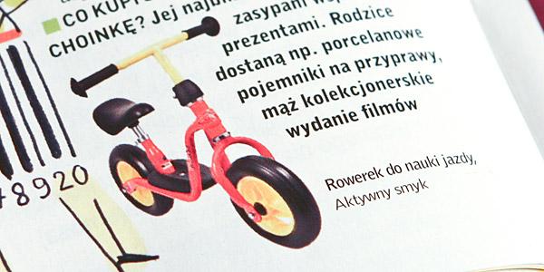 """Rowerek do nauki jazdy - Puky LR M - """"Gwiazdka, zakupy i ty..."""" Twoje dziecko nr 12"""