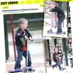 Cruz Beckham na hulajnodze Mini Micro. Odsłona druga…