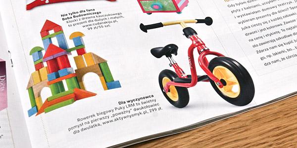 Rowerek biegowy Puky LR M to świetny pomysł... Prezenty dla dzieci - wybór PARTY