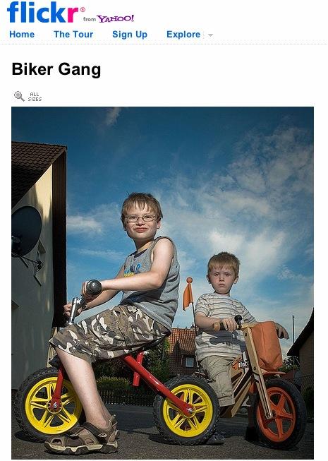 Biker gang uploaded into Flickr by DerDaniel1