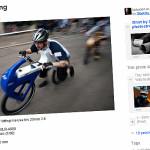 Rowerowo-biegowy wyścig starszaków!