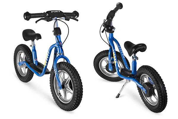Nowość niebieski rowerek biegowy Puky LR XL