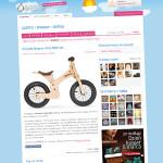 benc.pl o rowerku biegowym Early Rider Lite