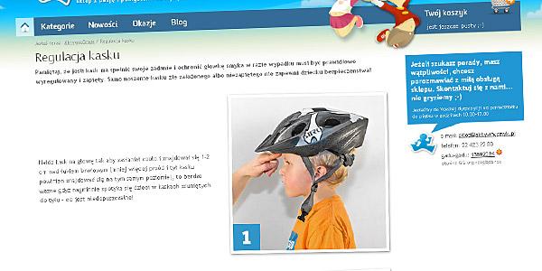Instrukcja jak dopasować i wyregulować kask dziecięcy
