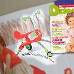 Jeździk Fropper – propozycja miesięcznika Dziecko (nr 5 – maj 2010)