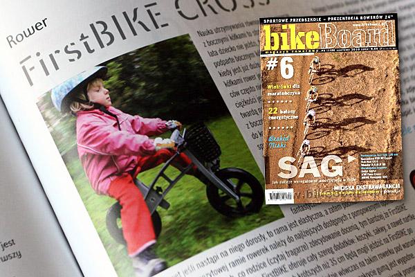 magazyn rowerowy bikeBoard o FirstBIKE Cross