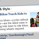 """Look Ma, No Pedals! w dziale LIFE & STYLE """"The Wall Street Journal"""""""