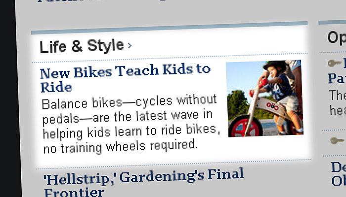 Look Ma, No Pedals!