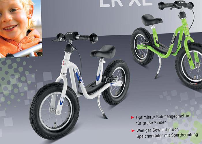 Nowość Puky - rowerek biegowy LR XL w nowej odsłonie