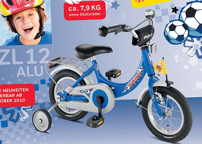 Nowość Puky - rowerek z pedałami ZL 12