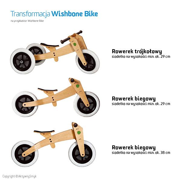 Rowerek biegowy/trójkołowy Wishbone Bike