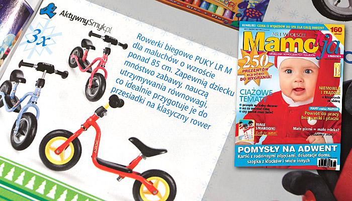 Świąteczny konkurs - A w nim przepiękne, atrakcyjne prezenty dla maluchów, starszaków i całych rodzin. (miesięcznik Mamo to ja - grudzień 2010)