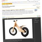 Rowerek biegowy Early Rider Classic jako unikatowy pomysł na prezent według The Guardian
