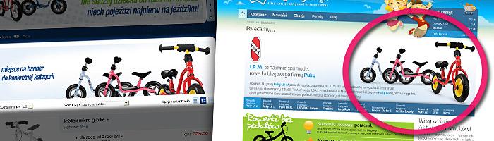 Kradzież zdjęcia rowerka biegowego Puky LR M