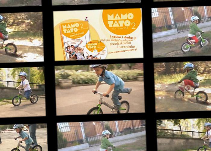 Mamo Tato co Ty na to? (Paweł Zawitkowski o rowerku biegowym) źródło: VCD demo