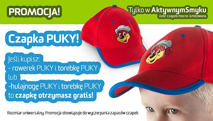 Promocja - czapka PUKY do zestawu produktów PUKY