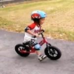 Rowerek biegowy Strider w akcji (ciąg dalszy)