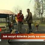 """""""Polecam zawsze rowerki bez pedałów"""" – Paweł Zawitkowski :-)"""