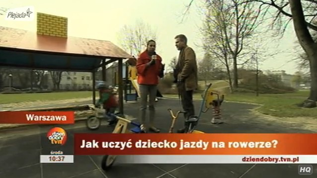 Uczymy dziecko jeździć na rowerki (biegowym)