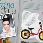 AktywnySmyk – to ma Sens! Rowerek biegowy w magazynie psychologicznym SENS
