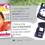 Ochraniacze SKIP | Zabawa na trawie – miesięcznik Dziecko nr 8