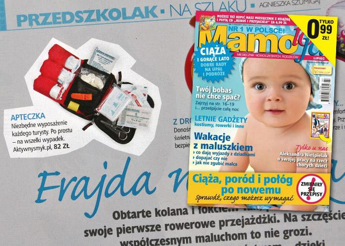 Miesięcznik Mamo to ja | Apteczka Deuter dostępna w sklepie AktywnySmyk.pl