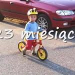 """Wiktor na rowerku biegowym Kettler Speedy 10"""""""